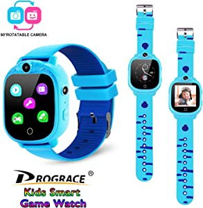 PROGRACE Kids Smartwatch with 90°Rotatable Camera… Sweepstakes