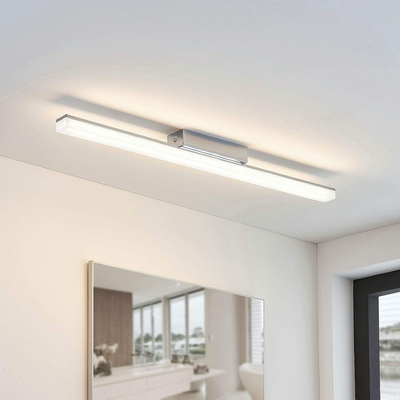 Lindby LED Deckenlampe Liyan dimmbar in Weiß u.a   Bad ...