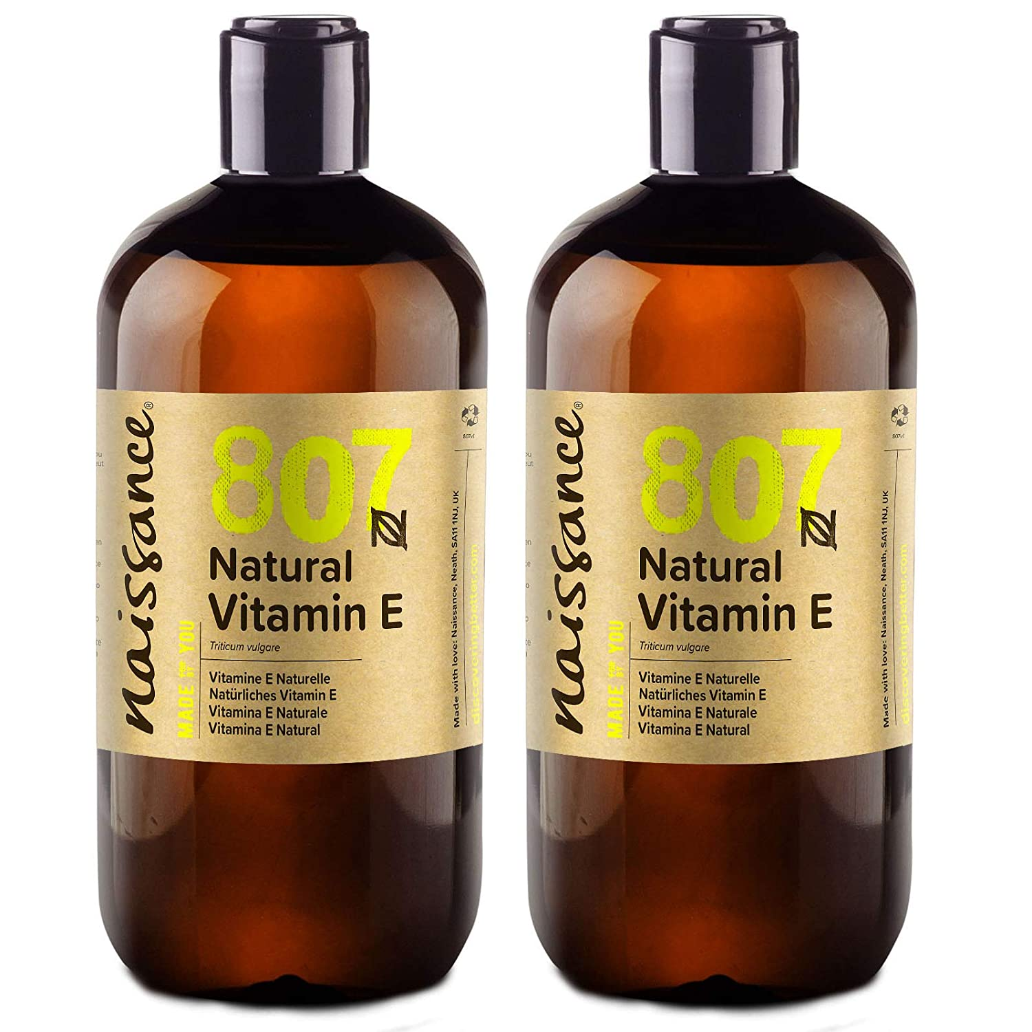 Amazon.com: Vitamina E Natural – 100% puro – 1 litro por ...