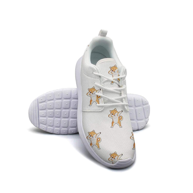 Cute Dabbing Doge Shiba Inu Women Canvas Casual Shoes Original Tennis Shoes