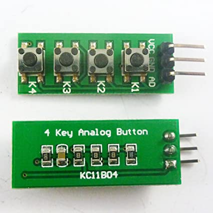 Audio & Video Replacement Parts United Keypad 4 Button Key Module Switch Keyboard For Uno Mega2560 Breadboard For Arduino