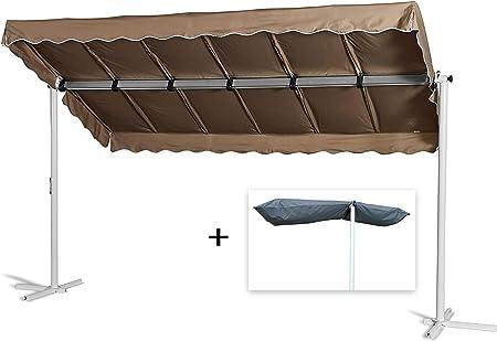 En acordeón-toldo de color gris con carcasa: Amazon.es: Juguetes y juegos