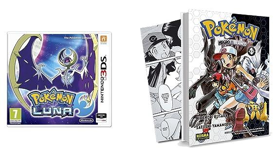 Pokémon Luna Reserva Con Cómic Amazones Videojuegos