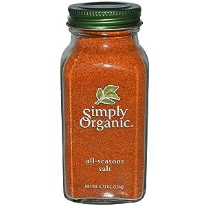 Simply Organic, All-Seasons Salt, 4.73 oz (134 g) Simply Organic, All-Seasons Salt, 4.73 oz (134 g)