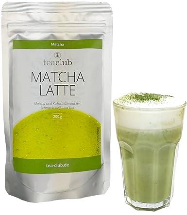Matcha Latte Mix Mit 20 Matcha Tee Pulver Und Kokosblütenzucker