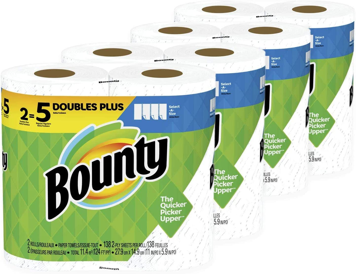 Bounty, 8 Rolls: Health & Personal Care