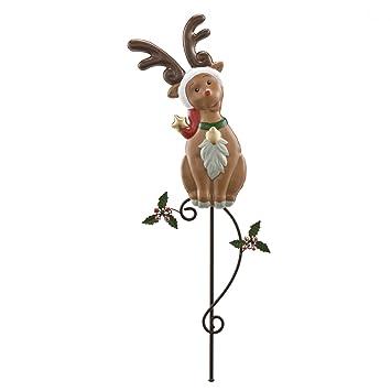 Gartenstecker Weihnachten.Amazon De Weihnachten Gartenstecker Fröhliche Weihnachten