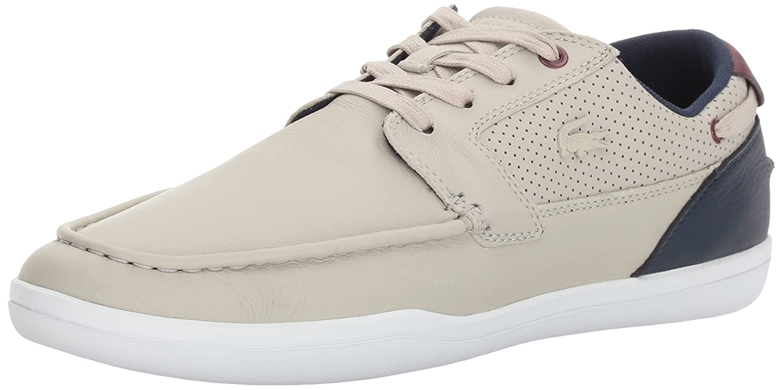 Lacoste Mens Deck-Minimal 317 1 Sneaker