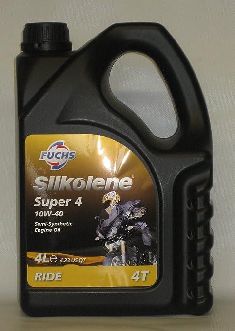 Fuchs SILKOLENE Super 4 10 W-40 Aceite de motor Moto semi-synthetic –