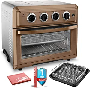 CUITOA60CS Air Fryer Toaster Oven (Copper Classic) with Extra Warranty