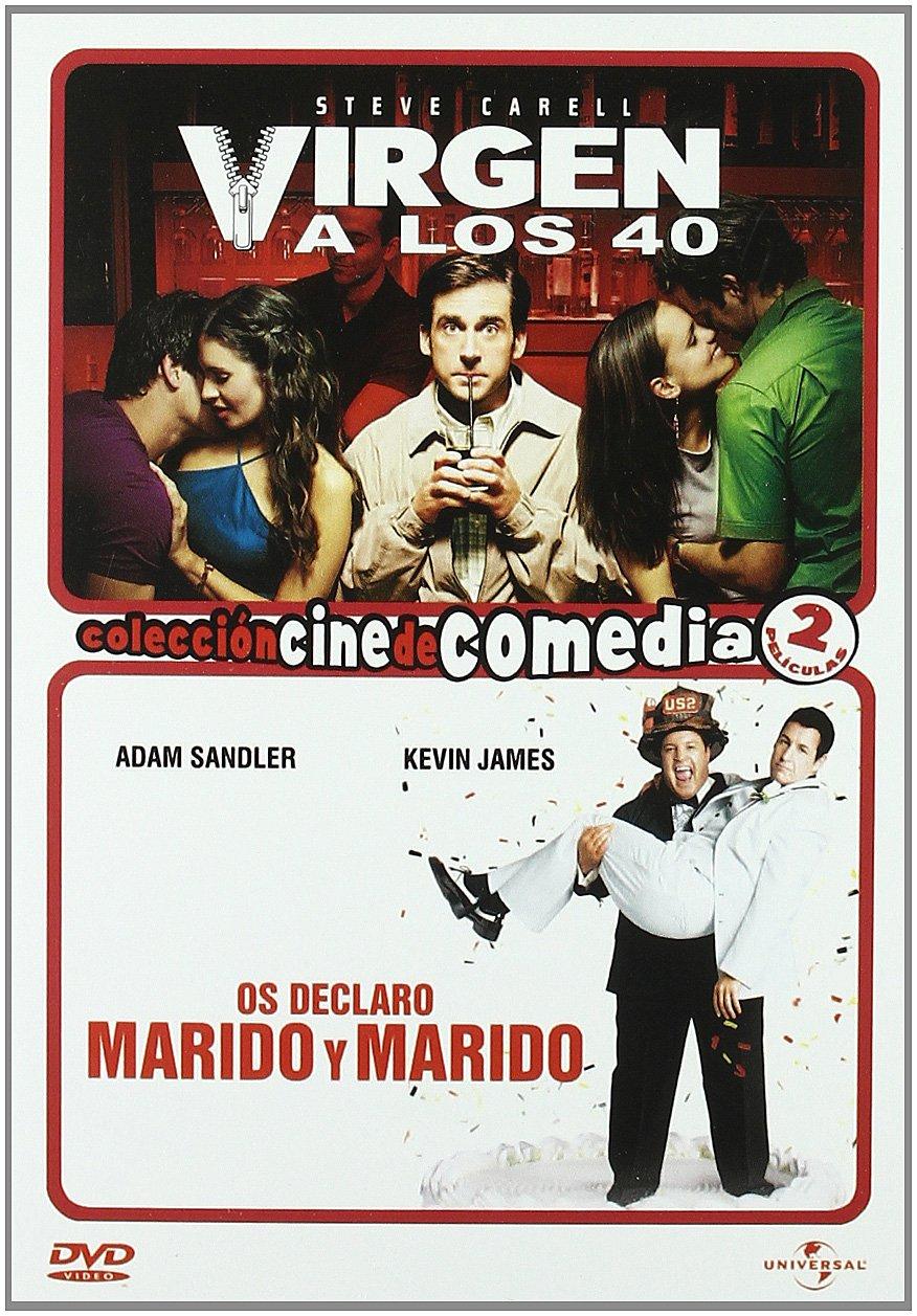 Os declaro marido+Virgen 40 [DVD]: Amazon.es: Cine y Series TV