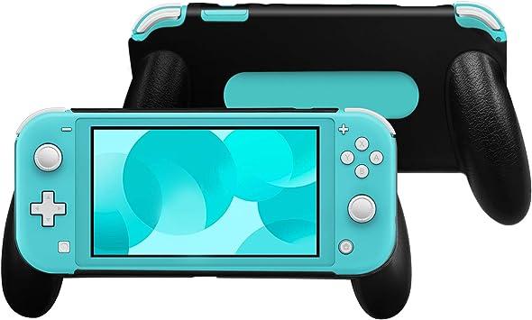 TechMatte Nintendo Switch Lite Funda de Agarre (Negro): Amazon.es: Electrónica