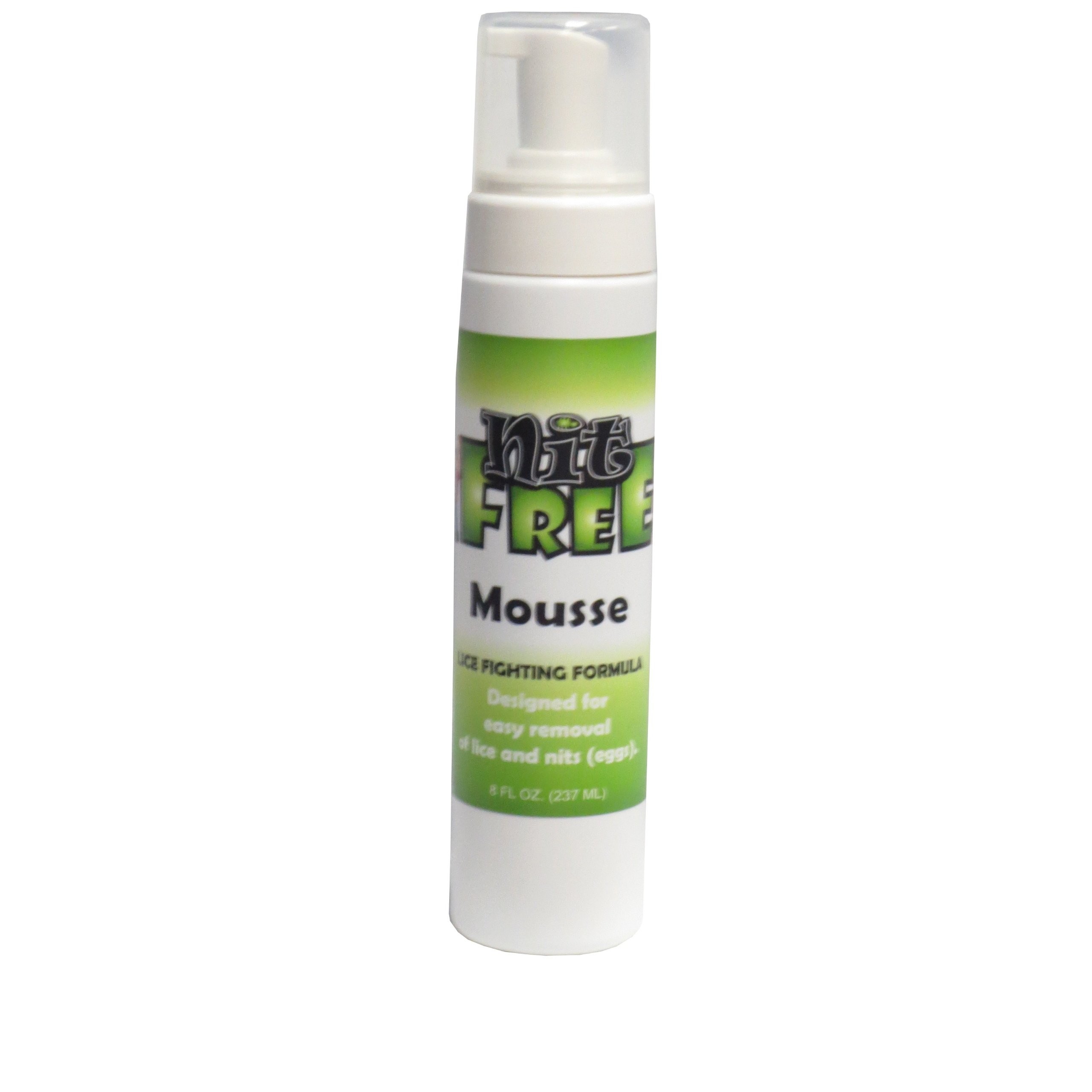 Nit Free Lice and Nit Eliminating Mousse and Nit Glue Dissolver (8-Ounce)