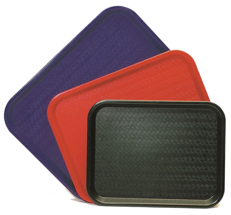 Genware Nev-ct1418– 05 Plateau Café , 35,6 x 45,7 cm, Rouge 6x 45 7cm NEV-CT1418-05