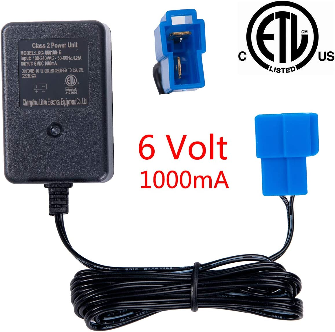 6V Charger for BMW x6 KID TRAX ATV Quad Car 6V battery Powered ride on car