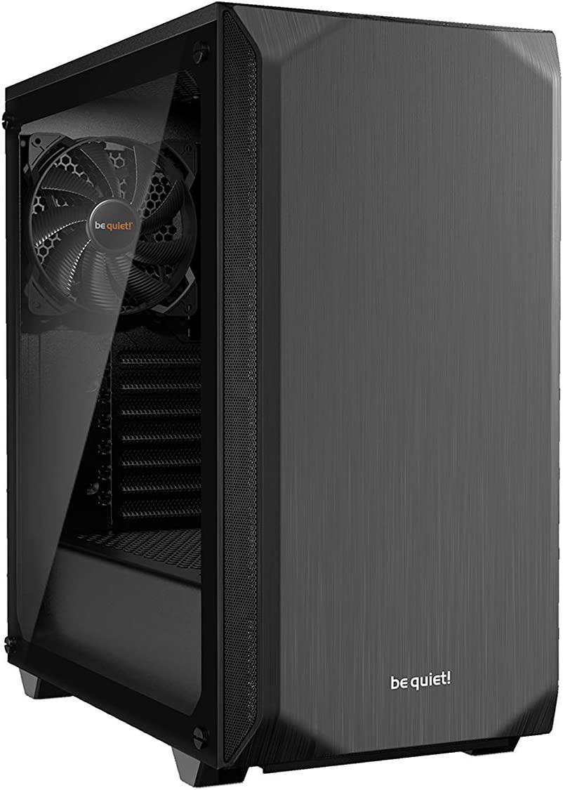 Be Quiet Pure Base 500 Tempered Glass Pc Case Black Computers Accessories