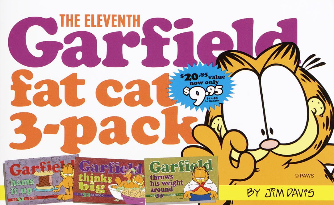 The Eleventh Garfield Fat Cat 3 Pack Contains Garfield Strip Numbers 31 32 And 33 No 11 Davis Jim 9780345438010 Amazon Com Books