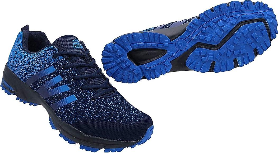 227 - Zapatillas Deportivas para Hombre (Talla 47-50), Color Azul ...
