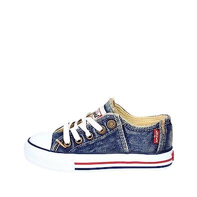 62711534b675d Levi s Scarpe Kids Sneakers Original RED TAB Low LACE in Tela blu  VTRU0005T-BL  Amazon.co.uk  Shoes   Bags