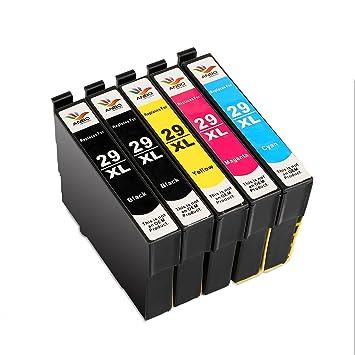 ANBO imágenes Compatible Epson 29 XL XL Cartuchos de tinta de alta capacidad compatibles con Epson Expression Home XP-332 XP-335 XP-235 XP-432 XP-435 ...
