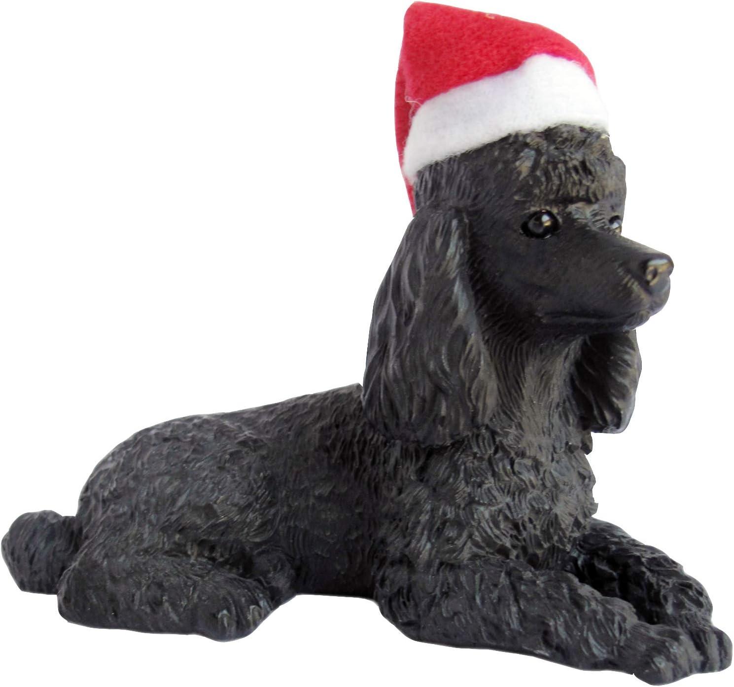 Sandicast Christmas Ornament, Black