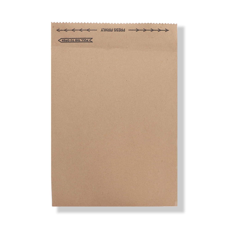Image of Envelope Mailers Jiffy Rigi Bag Mailer 89139#2, 8-3/8' x 10-3/8', Natural Kraft (Pack of 250)