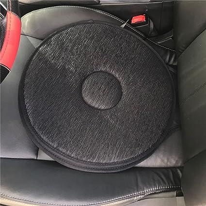 Blue Net Swivel Seat Cushion For Car Elderly 360 Rotation Lightweight