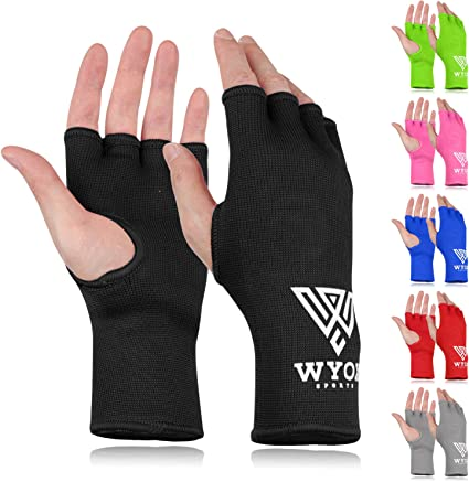 COTTON HAND WRAPS BANDAGES PRINTED DESIGN PUNCHING INNER GLOVES FIST BOXING MMA