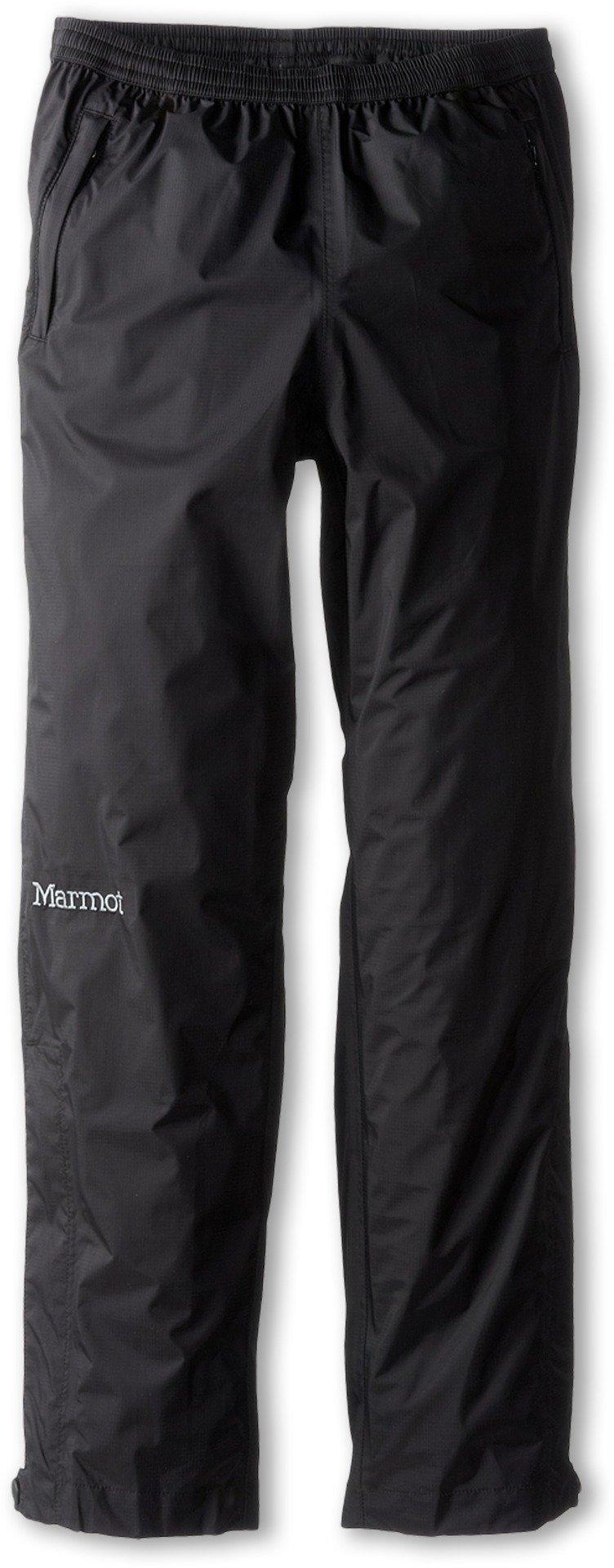 Marmot Kids Unisex Kid's PreCip Pant (Little Kids/Big Kids) Black X-Small