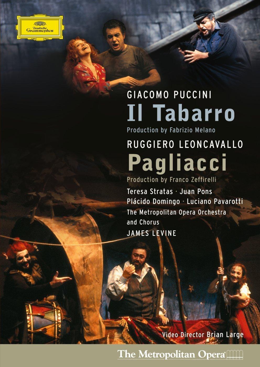 DVD : G. Puccini - Il Tabarro /  Pagliacci