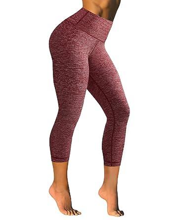 Long high waisted yoga pants