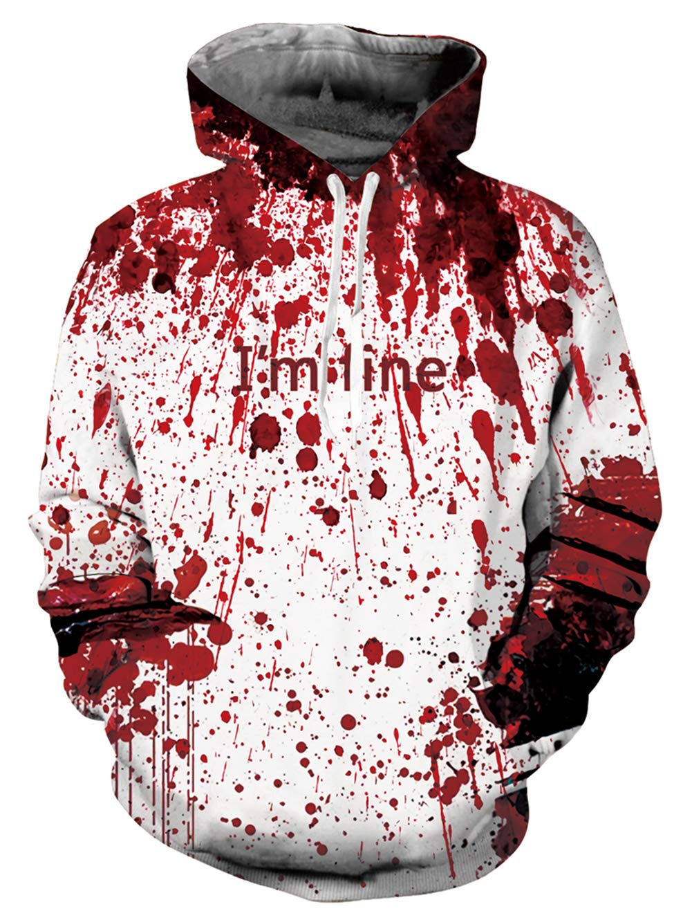 Great Halloween hoodie sweatshirt or novelty jacket