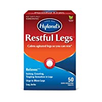 Restful Legs Tablets by Hyland's, Natural Itching, Crawling, Tingling and Leg Jerk...