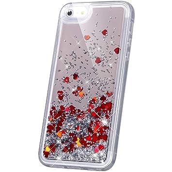 Amazon.com: Carcasa con espejo para iPhone SE, iPhone 5S ...