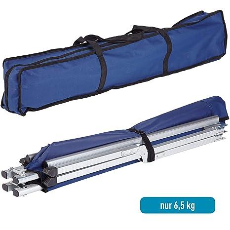 Maxx Laurent Skandika xx cama portátil para acampar -, 210x80cm azul: Amazon.es: Deportes y aire libre