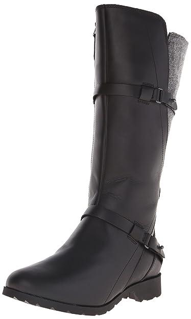 Teva W Delavina Damen US 5 Schwarz Mode-Knie hoch Stiefel  Amazon.de ... 23a54360c1