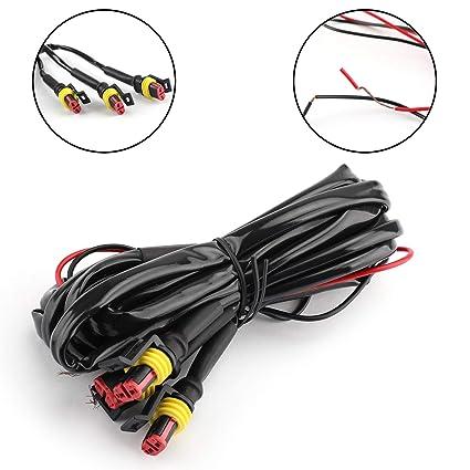 Artudatech - Parrilla LED para coche con cable F y R LED ...