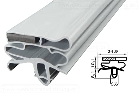 Kühlschrankdichtung : Magnetdichtung profil groß kd06 2000mm inkl. magnetband farbe