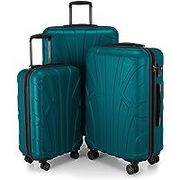 SUITLINE - Bagage à main, Valise cabine, Trolley, 4 roues, ABS très léger, TSA