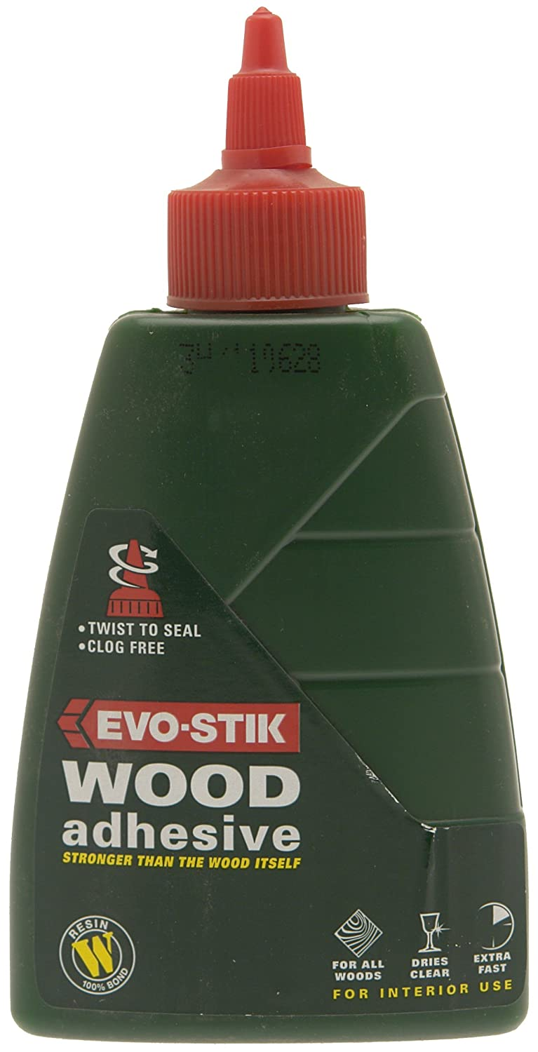 Evostik WOOD ADHESIVE RESIN W 1 LITRE 715615 Evo Stik 30813219 B0001GRVQY Adhesives Adhesives and Fillers Fixings and Hardware Items Resin W Adhesive Wood Adhesives