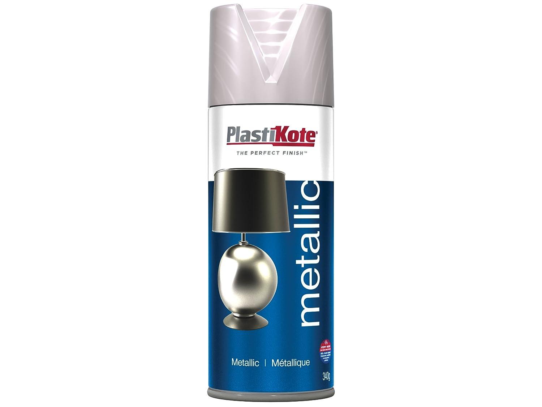 Plasti-kote 4402 Metallic 400ml Brushed Nickle PKT4402 B007AS1FU4