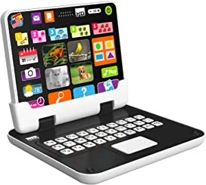 Kidz Delight Tech Too My First 2 in 1 Tablet, Black