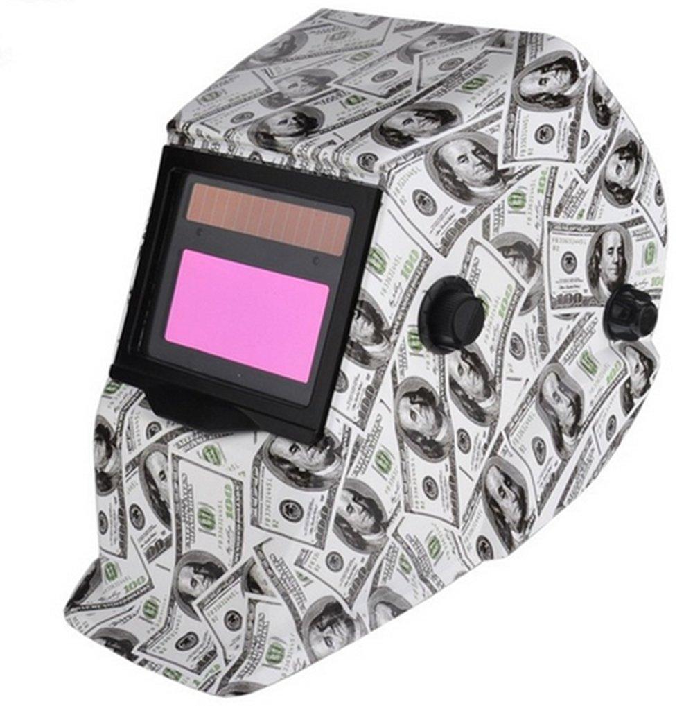 Careta de soldar solar Oscurecimiento Automático Arc Tig Mig máscara de soldador de soldadura lente máscara de molienda: Amazon.es: Bricolaje y herramientas