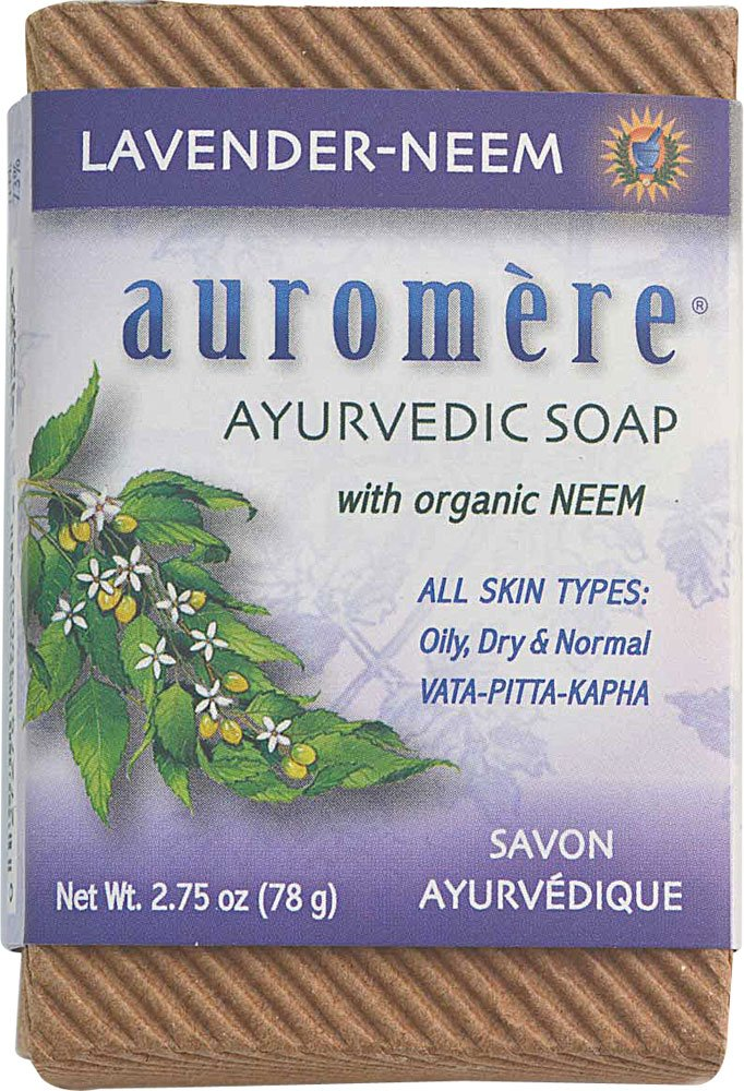 Auromere Bar Soap Ayurvd Lav Neem 2.75 Oz