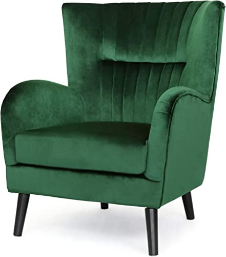 Christopher Knight Home Marcia Velvet Club Chair - the best living room chair for the money