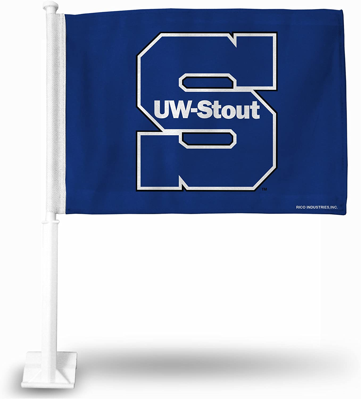Rico Industries NCAA Fan Shop Car Flag Including Pole