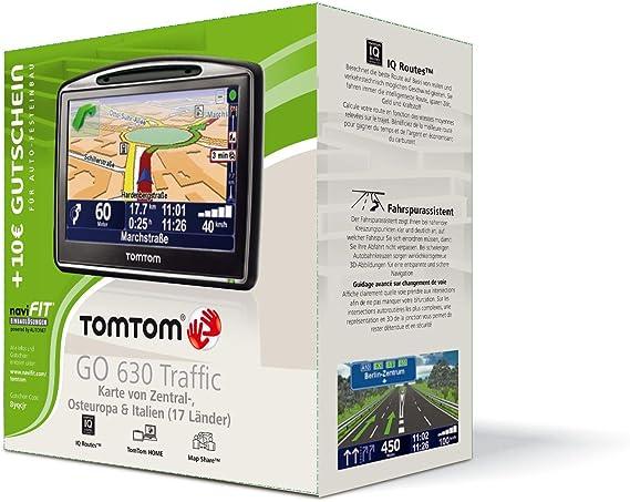 Tomtom Go 630 Traffic Navigationssystem Europa Inkl Elektronik