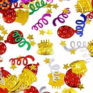 Decoration Happy Birthday Diyas 30g Bag Party Confetti Glitter Plastic Kids