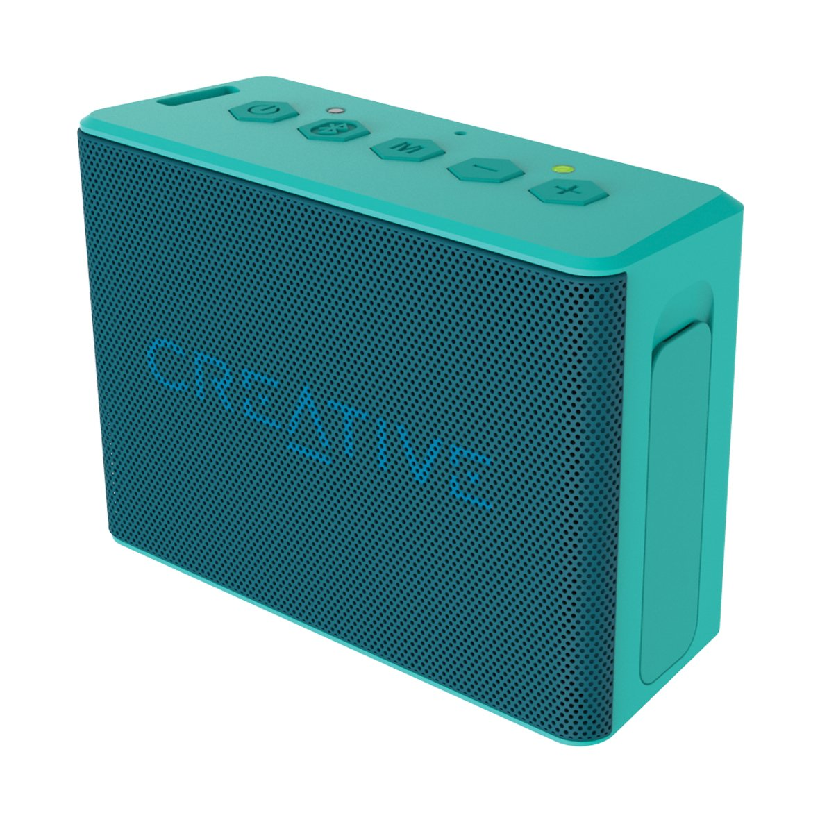 Creative Labs Muvo 2c - Altavoz portátil con Bluetooth, Color Turquesa
