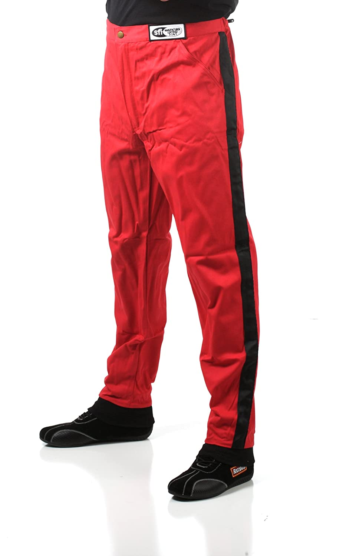 RaceQuip 112003 112 Series Medium Black SFI 3.2A//1 Single Layer Driving Pant
